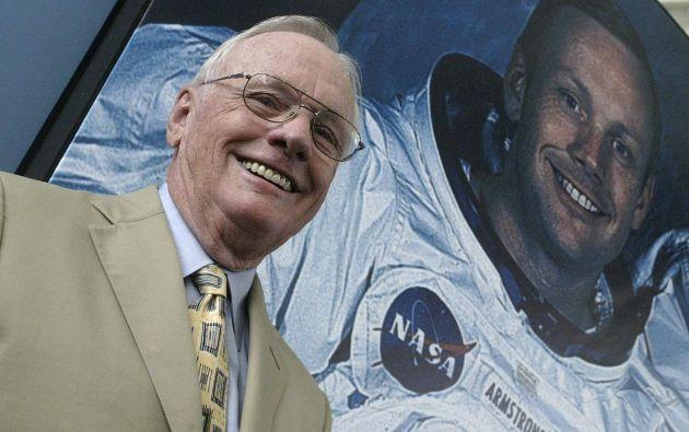 Neil Armstrong falleció en 2012 por complicaciones después de una cirugía cardiovascular. Foto: AFP.