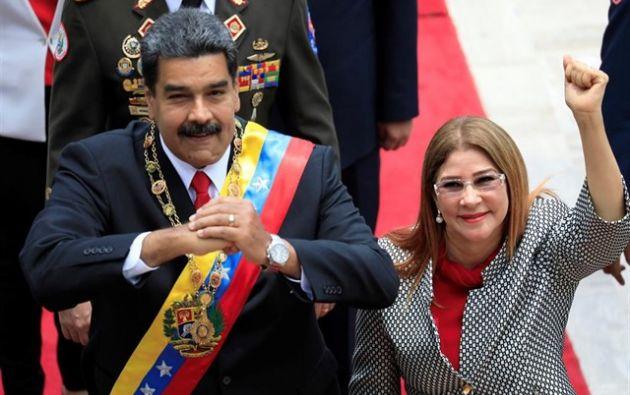 """Los hijastros de Maduro sancionados son Walter, Yosser y Yoswal Flores, conocidos como """"Los Chamos""""."""