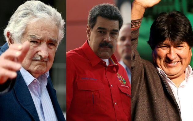 """""""Hay gente que cede, que le da miedo tomarse una foto con Venezuela porque Maduro es un dictador y dicen: Maduro es un dictador"""", dijo Nicolás Maduro. Foto: Collage Vistazo"""
