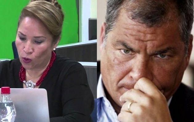 Martínez identifica a Rafael Correa con las siglas SP, como respetuosamente llamaban los funcionarios de Carondelet al Señor Presidente.