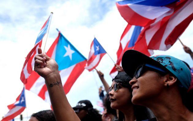El gobernador de Puerto Rico anunció su renuncia a fines del 24 de julio, luego de dos semanas de masivas protestas. Foto: AFP