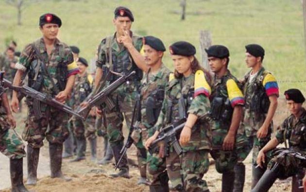 Fuerzas Armadas Revolucionarias de Colombia (FARC). Foto: Archivo.