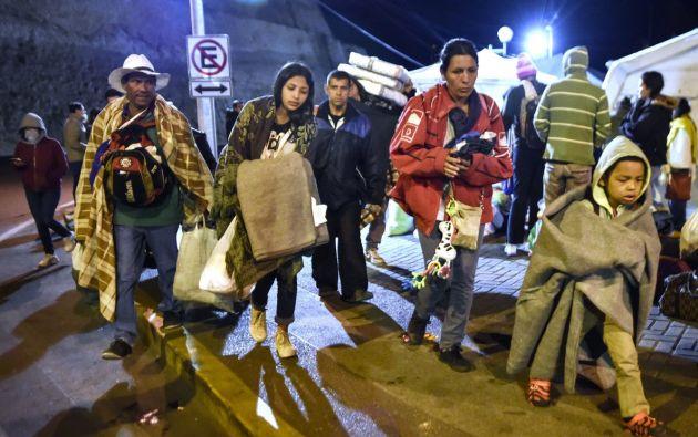 A finales de agosto entrará en vigor en Ecuador una nueva normativa para los migrantes venezolanos.  Foto: AFP