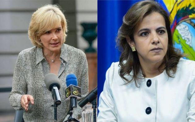 """Viteri dijo que la ministra deberá """"responder jurídica y políticamente"""" por los robos, violaciones y muertes que ocurren en las calles."""