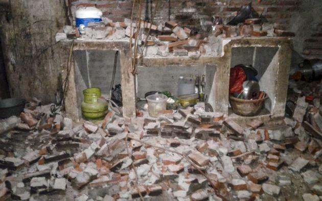 El sismo de magnitud 6,8 se registró a 147 km de Labuan en la isla de Java. Foto: AFP.