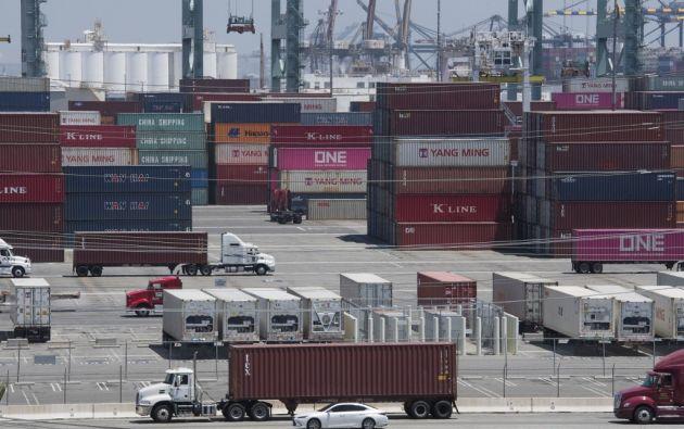 Donald Trump anunció nuevos aranceles para productos chinos. Foto: AFP.