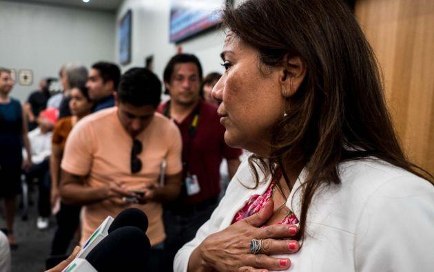 Cuando estallaron los disparos, había entre 1.000 y 3.000 clientes y 100 empleados en el supermercado. Foto: AFP.