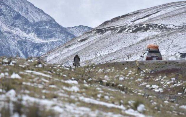 El suceso ocurrió el viernes en el sector de La Cumbre camino a Los Yungas, a unos 10 kilómetros de la ciudad de La Paz.