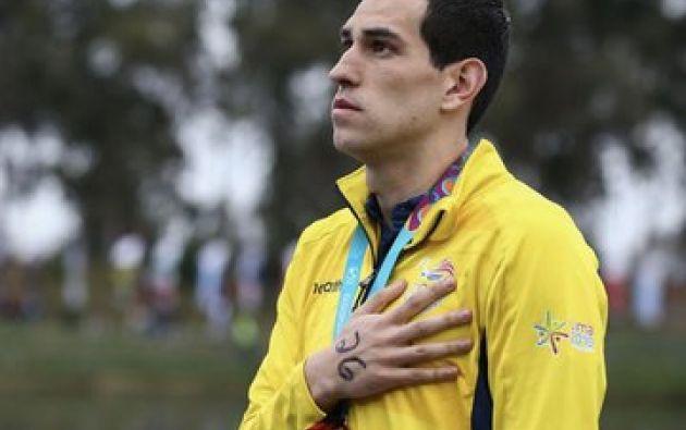 Esteban Enderica logró la cuarta medalla de Ecuador en los Juegos Panamericanos. Foto: Secretaría del Deporte.