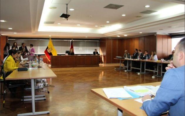 """Según Salazar, el expresidente Rafael Correa era el """"Líder"""" de la organización delincuencial."""