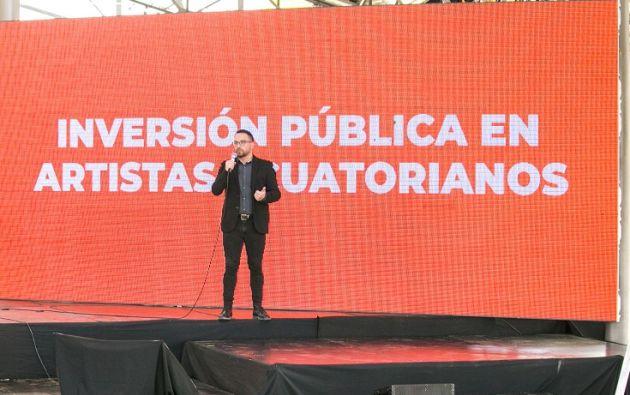 Al lanzar la primera etapa de incentivo a la economía creativa o naranja, Velasco dijo que se debe formalizar el sector cultural.