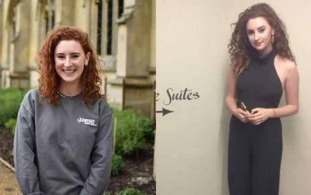 Alana Cutland de 19 años era estudiante de la Universidad de Cambridge.