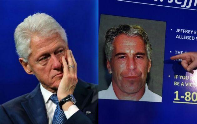 Tanto Trump como Bill Clinton fueron amigos con Epstein en décadas anteriores. Fotos: AFP