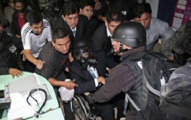 Froilán Jiménez fue asesinado durante la operación para evacuar a Rafael Correa del Hospital de la Policía de Quito, el 30 de septiembre de 2010.
