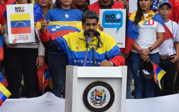 Caracas, que en febrero rompió relaciones con Bogotá, niega esas versiones. Foto: AFP