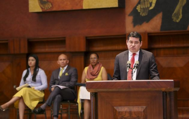 El legislador Raúl Tello resaltó que la mayoría del CPCCS actuó de manera dolosa.