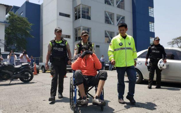 """El presunto autor intelectual, alias """"Lu"""", está en silla de ruedas y cumple con prisión domiciliaria. Foto: Oromartv.com"""
