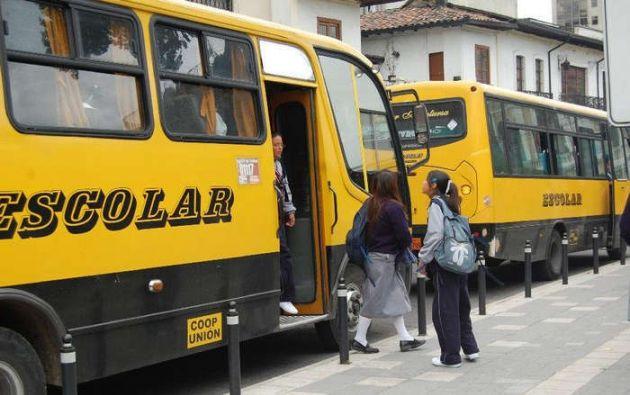 La mujer era la azafata del autobús escolar que transportaba a la víctima, una niña de 3 años. Foto referencial