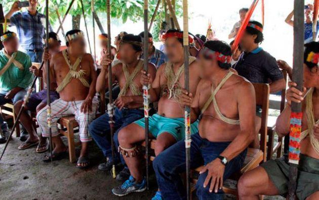 La lectura de la imposición de la pena para los sentenciados se llevó a cabo en la población de Pompeya, en el museo del Centro de Investigación Cultural de la Amazonía (Cicame).