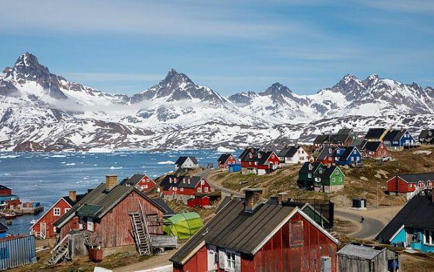Groenlandia es hogar para unas 57.000 personas, la mayoría perteneciente a la comunidad inuit. Foto: Reuters