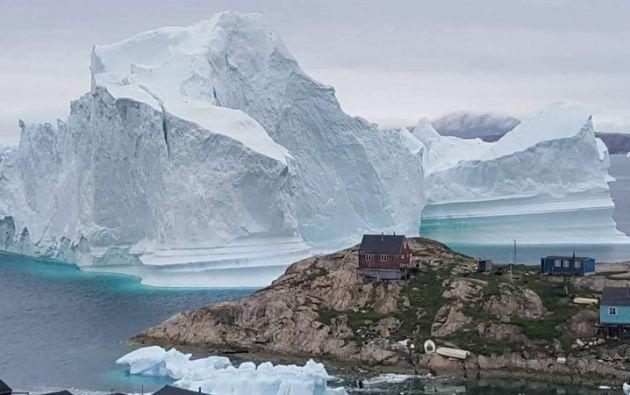 Groenlandia es una gigantesca isla ártica, de dos millones de km2, rica en recursos naturales. Foto: Reuters