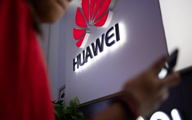 La compañía china es considerada líder mundial en la tecnología 5G. Foto: AFP