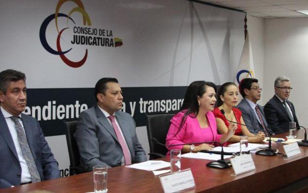 Maldonado aseguró que el proceso continúa de acuerdo con los tiempos y metodología previstos.