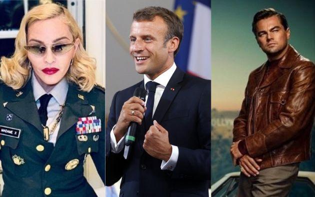 Madonna, Emmanuel Macron y Leonardo DiCaprio generaron desinformación sobre los incendios.