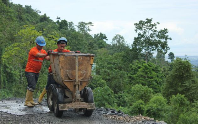 La actividad minera necesita formalizarse para evitar afectaciones ambientales y el cuidado de los trabajadores. Foto: Cortesía.