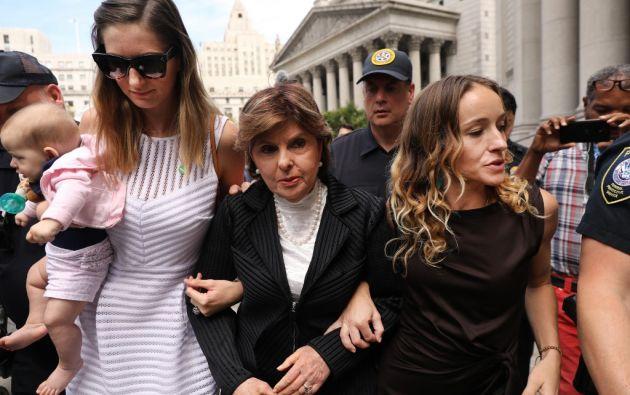Algunas lloraron al escuchar testimonios similares a los de ellas. Foto: AFP