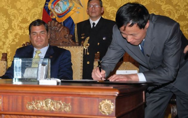 La defensa de Runguo había solicitado la presentación en el consulado de Ecuador en Beijin (China).