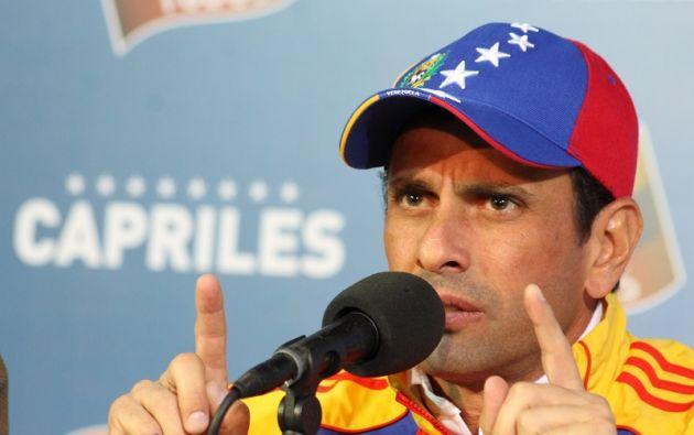 """Según Capriles """"no tiene ningún sentido que la respuesta en la región sea pedirle visa a unos venezolanos que están huyendo del hambre"""". Foto: AFP."""