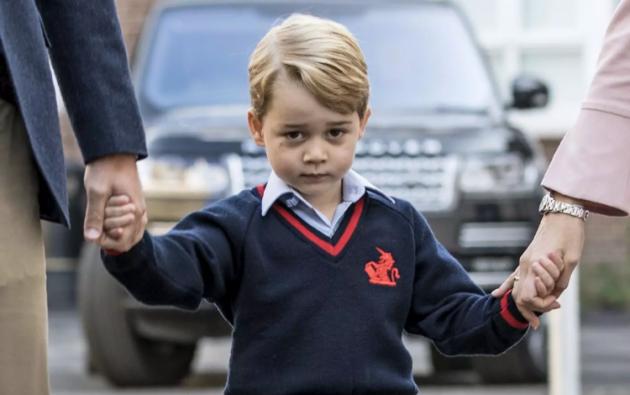 En la imagen, el príncipe Jorge, hijo mayor del príncipe William de Gran Bretaña. Foto: AFP