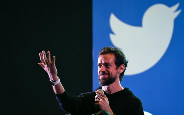 Jack Dorsey es el cofundador de la red social Twitter. Foto: AFP.