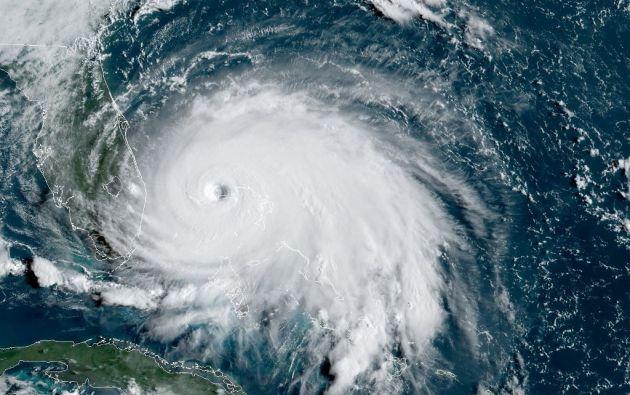 Los científicos clasifican los huracanes en la escala Saffir-Simpson, que va de uno a cinco. Foto: AFP