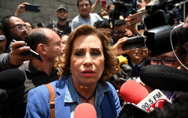 La ex primera dama socialdemócrata perdió el pasado 11 de agosto el balotaje presidencial. Foto: AFP