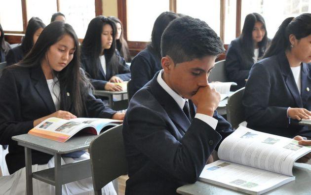 El comienzo de las actividades escolares se producirá de forma escalonada. Foto: Ministerio de Educación