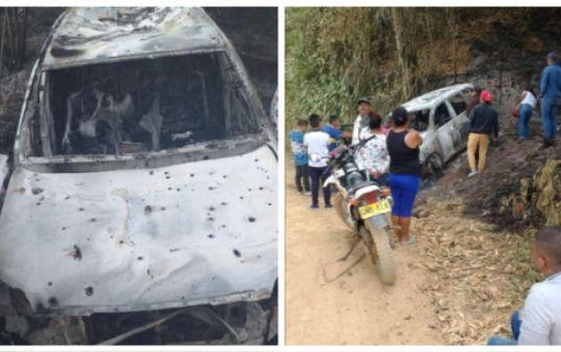 Entre los seis asesinados se encuentra la madre de la candidata. Fuente: @FelicianoValen