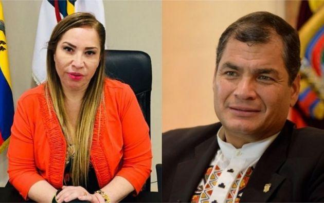 Martínez fue la mujer de confianza de Rafael Correa en Carondelet.