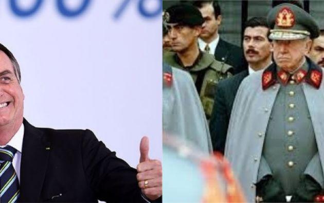 Bolsonaro dijo a Bachelet que si no fuera por Pinochet, hoy Chile sería como Cuba.
