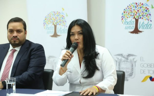 """""""El Gobierno invierte $ 16 millones anuales para este sector"""", aseguró Andramuño."""
