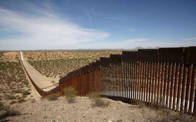 El Congreso aprobó 1.375 millones de dólares para el muro lo que llevó al Trump a declarar una emergencia nacional para conseguir más fondos. Foto: Reuters.