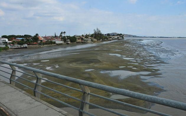 El trabajo consistía en mover 4,5 millones de metros cúbicos de sedimento de los alrededores del islote El Palmar.