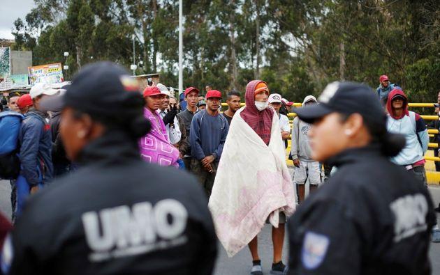 """""""La exigencia de un visado no frena una población que migra por hambre y necesidad"""", dijo el funcionario. Foto: Reuters"""