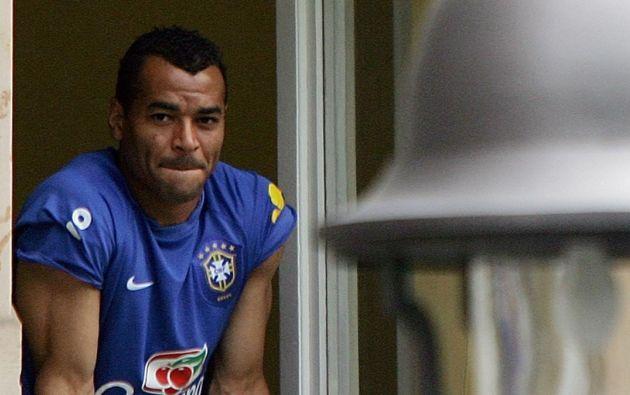 Danilo Feliciano de Moraes hace cuatro años ya había sufrido otro infarto también mientras jugaba fútbol con su familia. Foto: AFP.
