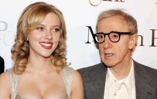 Scarlett Johansson ha participado en movimientos como #MeToo y y Time's Up que denuncian casos de abuso en Hollywood. Foto: AFP.
