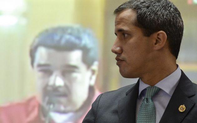 La Fiscalía mantiene varias causas contra Guaidó, el jefe del Parlamento reconocido como gobernante interino por medio centenar de países. Foto: AFP.