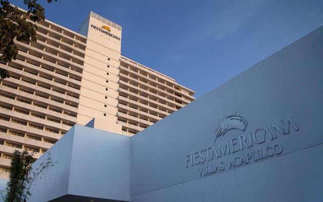 La ecuatoriana fue encontrada en el jardín del hotel desnuda y cubierta por una toalla.
