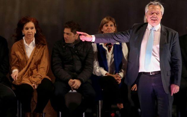 La incertidumbre sobre la política económica de un eventual gobierno Fernández-Kirchner agita a los mercados. Foto: Reuters