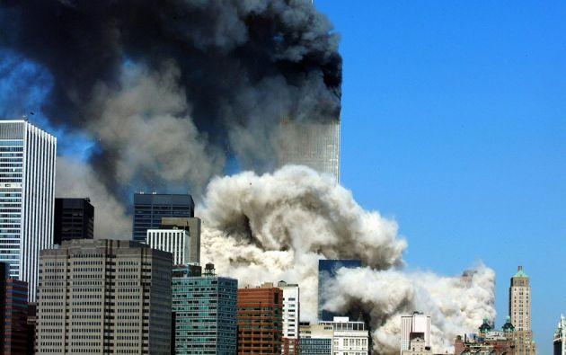 """Los decenas de miles de bomberos, rescatistas, médicos o voluntarios movilizados hacia el """"Ground Zero"""" fueron los primeros afectados. Foto: AFP"""